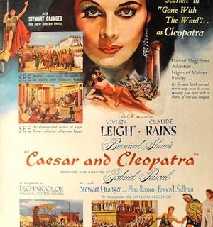 Movie Tuesday: Caesar and Cleopatra (1945)