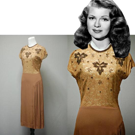 Vintage Paper Dolls: Rita Hayworth
