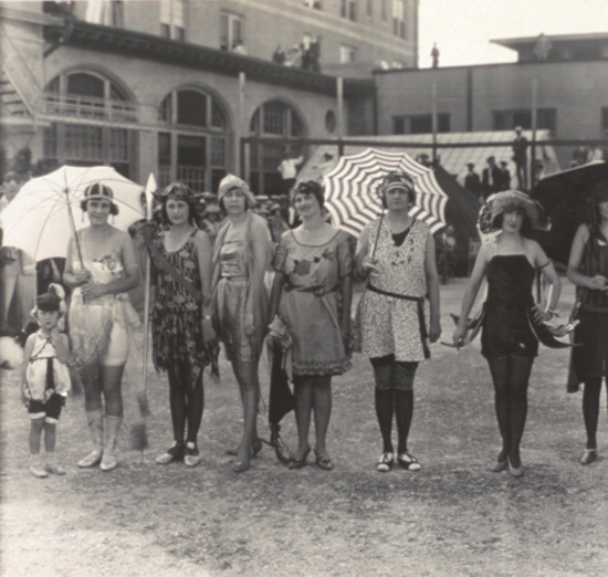 1920s swimsuit competition