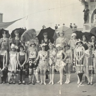 1920s Bathing Girl Revue Extravaganza