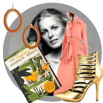 Vintage Lookbook: Peachy 70s Style