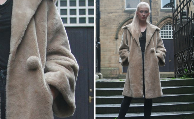 1950s Fur Swing Coat
