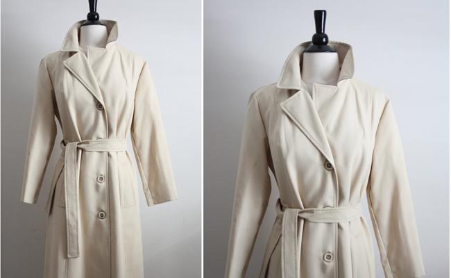 Vintage 1970s Classic Trench Coat