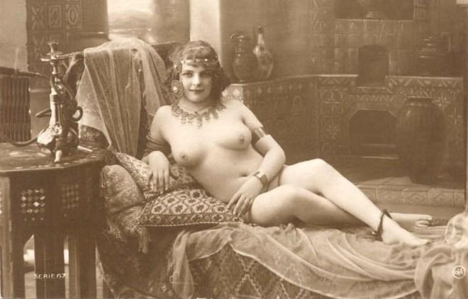 Miss Fernande French Postcard