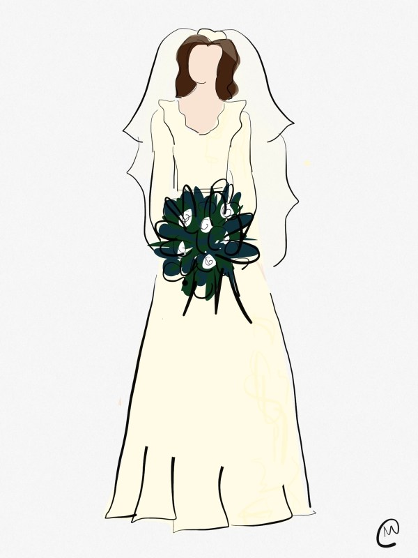 Marilyn Monroe's Wedding Dress
