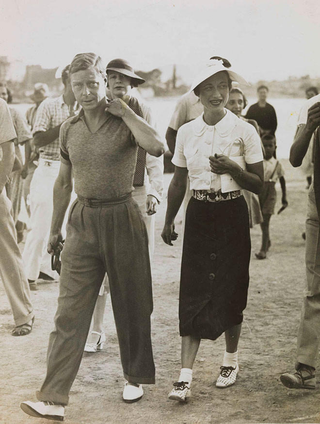 King Edward VIII and Mrs Simpson