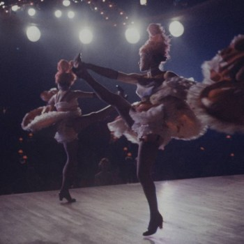 The Can Can Dancers at the Moulin Rouge 1950s