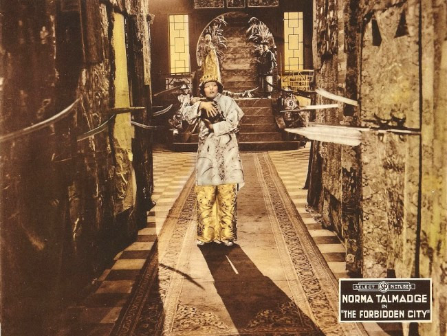 Norma Talmadge in The Forbidden City 1918