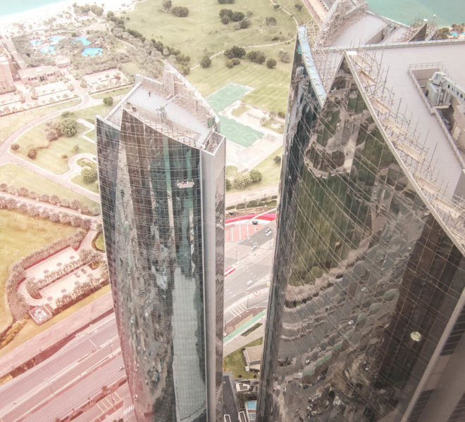 Etihad Towers Aussichtsplattform Observation Deck