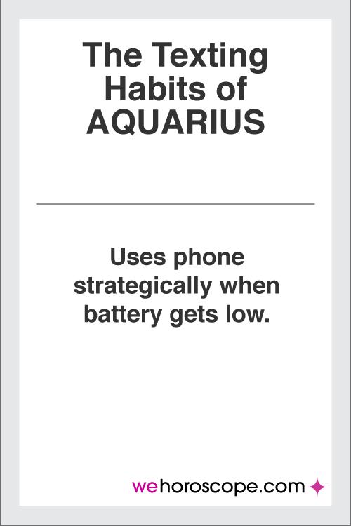 aquarius-texting-habits