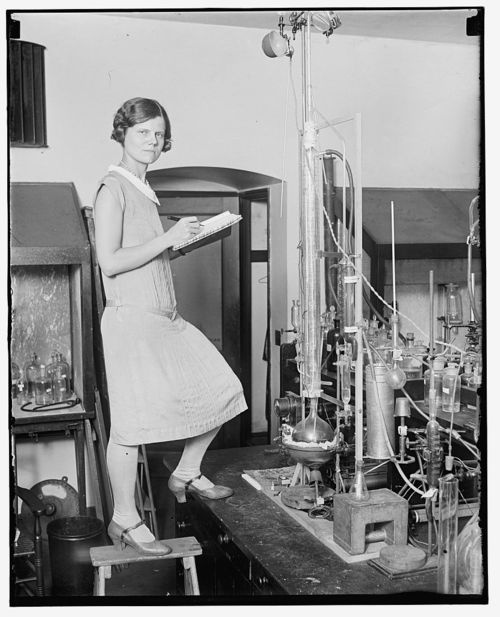 Women have apparently been part of science for some time now. Developing ...