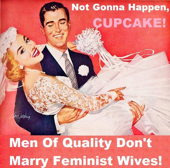 """I'm pretty sure """"Men of Quality"""" don't spend their days making up imaginary reasons why women they dont like are going to be sorry one of these days I'm teling you!!1!"""