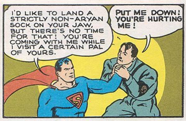 Where's Superman when you need him?