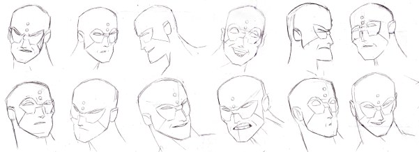superhero_character_expression_sheet_1