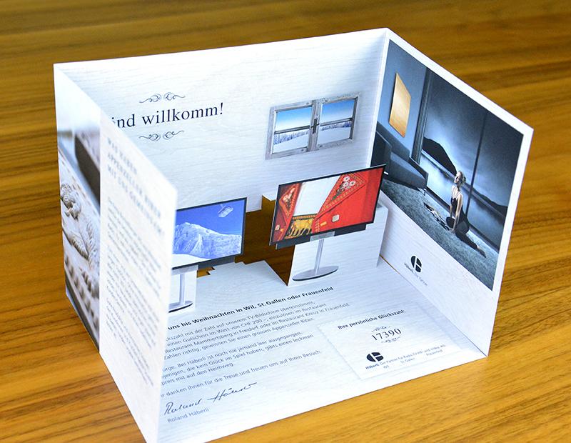 Häberli-Mailing – Weibel Druck & Design AG