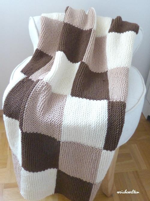 Decke Stricken Wieviel Wolle 3 Einfache Decke Stricken 10