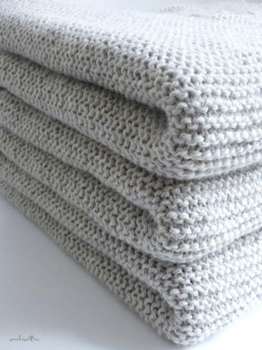 Decke Stricken Wieviel Wolle 3 Anleitung Decke Stricken 8