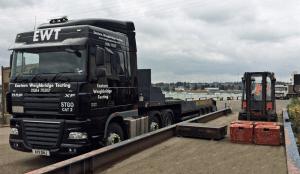 EWT Weighbridge Test Unit On-Site