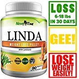 inda - Weight Loss Pills for Women & Men - Natural Herbal Diet Supplements - Appetite Suppressant That Work Fast - Best Diet Pills 90 Pills
