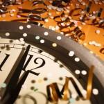 New Years Eve 2015 Clock