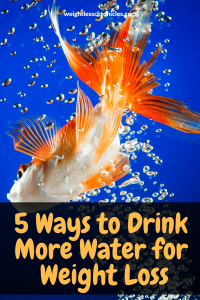 5 ways to drink more water for weight loss photo