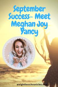 Meghan Joy Yancy September Success weight loss photo
