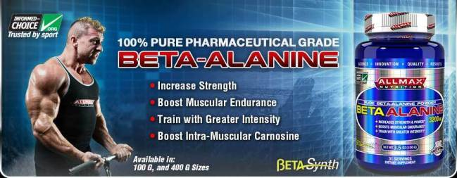 Beta Alanine for muscle mass