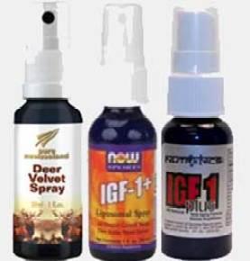 Deer Antler Spray Results