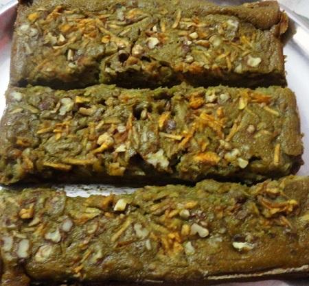 Healthy Whole Wheat Apple Walnut Jaggery Cake Recipe (1)