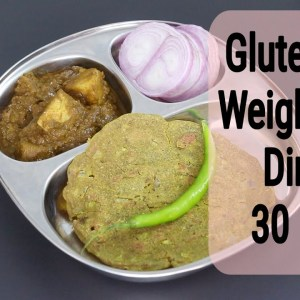 Indian Meal For PCOS Diet - Gluten Free Dinner Recipe For PCOD Weight Loss | Skinny Recipes