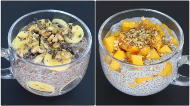 Chia Pudding - 2 Easy & Healthy Chia Pudding Recipes - Chia Seeds For Weight Loss   Skinny Recipes