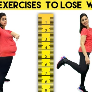 5 Low Impact Exercises To Lose Weight At Home For Beginners. Over Weight / Obese + Bad Knees Workout