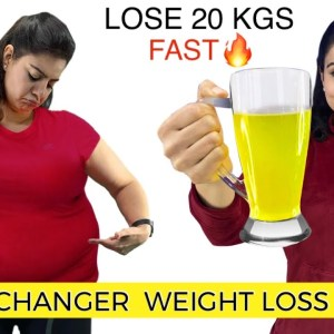 Lose 20 Kgs FAST With My LIFE CHANGER Weight Loss Tea🔥 100% Natural Drink For Extreme Weight Loss
