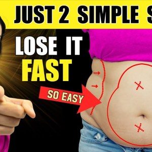 7 Days Lose Belly Fat Fast Challenge | Get Flat Stomach | Just 2 Steps To Transform Your Body