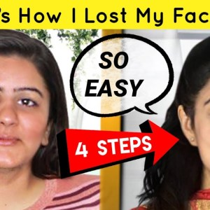 How To Reduce Face Fat  | Lose Chubby Cheeks & Double Chin | Easy Exercises To Get Slim Face FAST