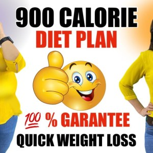 900 Calorie Indian Meal Plan For Weight Loss | How To Lose Weight Fast | Indian Diet Plan