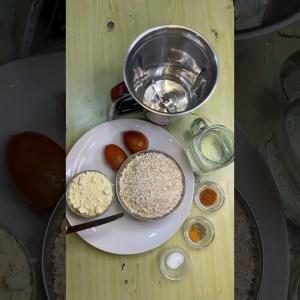 Tomato oats chilla @mission weight loss