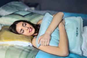 Sleep For Weight Loss Blog Sleeping Girl Illustration
