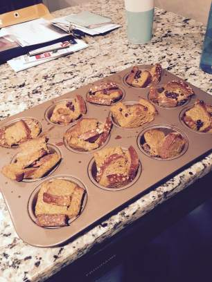 Pumpkin French Toast Muffin Cups