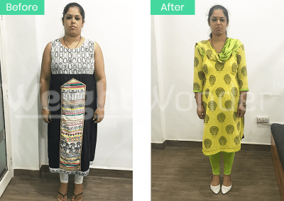 Amrita Tople (Lost 33kgs)