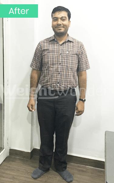 After-Ashwini Mirchandani (Lost 16kgs)