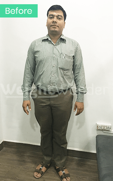 Before-Ashwini Mirchandani (Lost 16kgs)