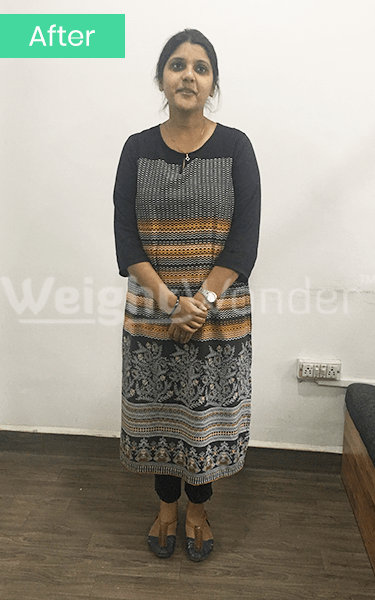 After-Nidhi Srivastava (Lost 25.6kgs)