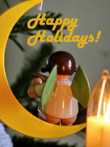 Weihnachtsbilder  kostenlos, Happy Holidays, Weihnachtsgruesse, Englisch