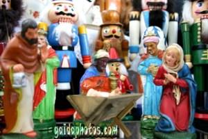 Weihnachtskarte  kostenlos, Krippe, Christkind