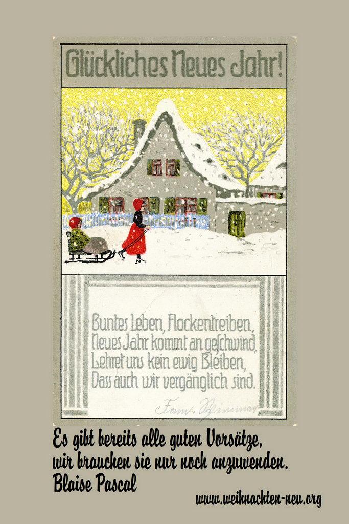 Neues Jahr Silvester schöne Sprüche - weihnachten-neu.org