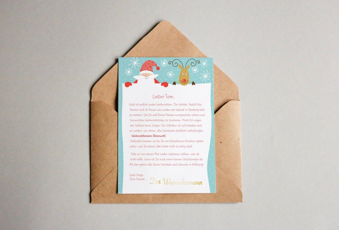 Weihnachts-Brief