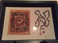 Koptische Textilien, Rosenkränze und Schmuck