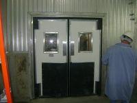 Double Acting Traffic Door - Weiland Doors