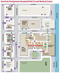 Map and Directions  Weill Cornell Brain and Spine Center